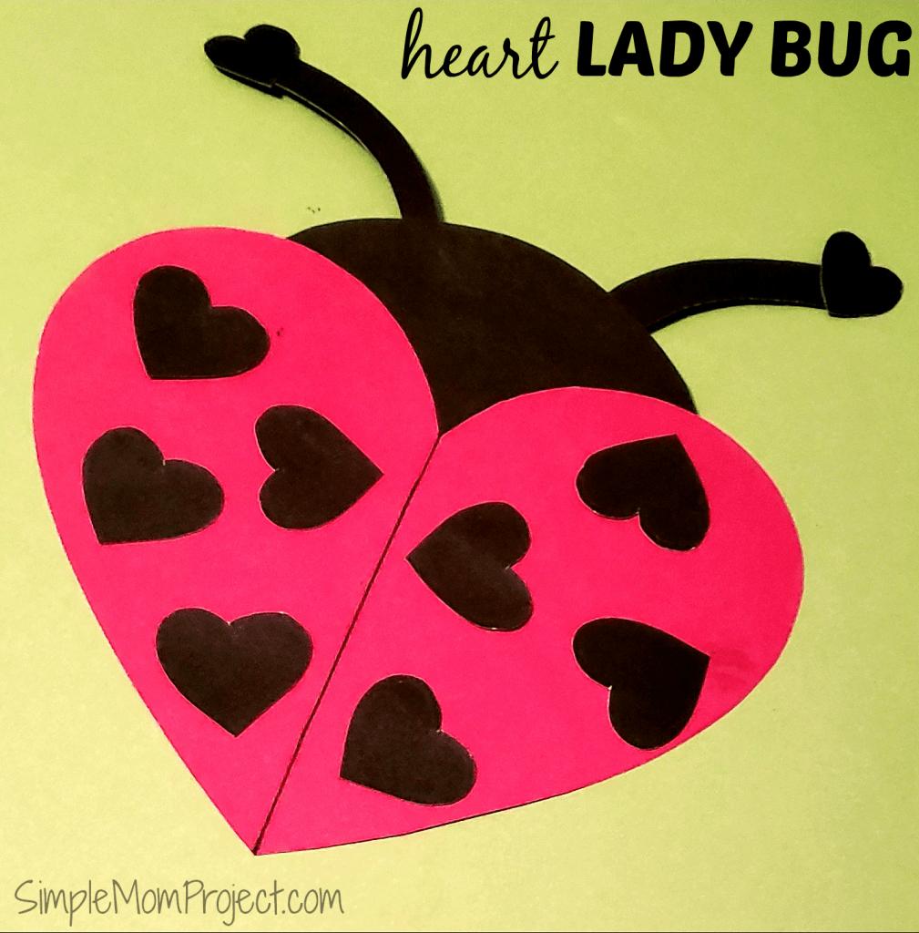 Easy Diy Valentine's Day Ladybug With Free Printable Templates - Free Printable Valentine's Day Stencils