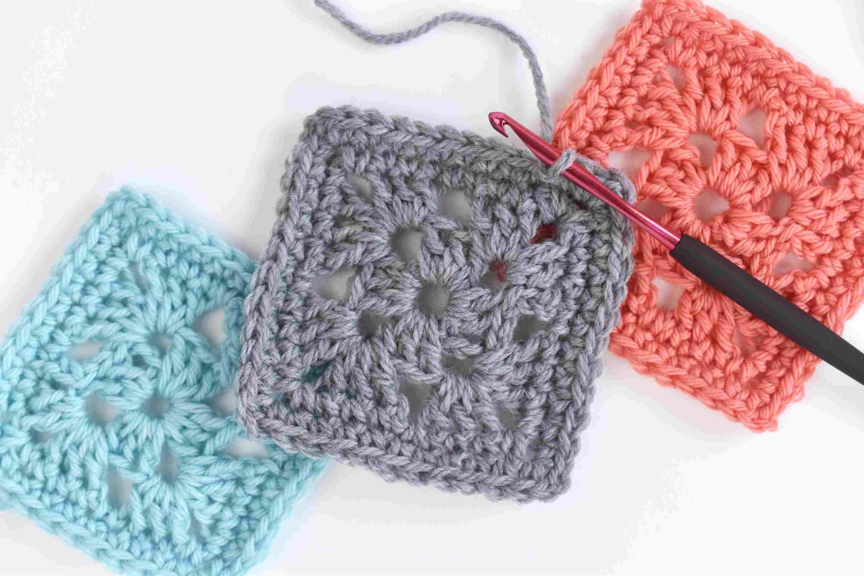 Easy Granny Square Crochet Pattern - Free Printable Crochet Granny Square Patterns