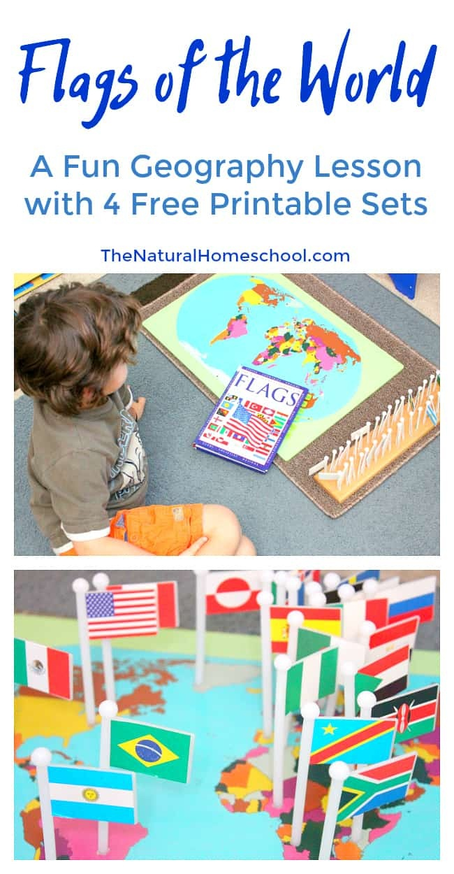 Fantastic Country Flags Of The World With 4 Free Printables - The - Free Printable Pictures Of Flags Of The World