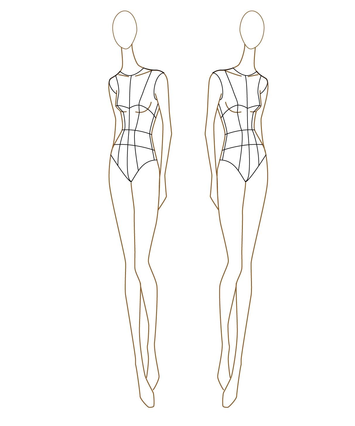 Fashion Templates - 33+ Free Designs, Inspiration, Jpg, Format - Free Printable Fashion Model Templates