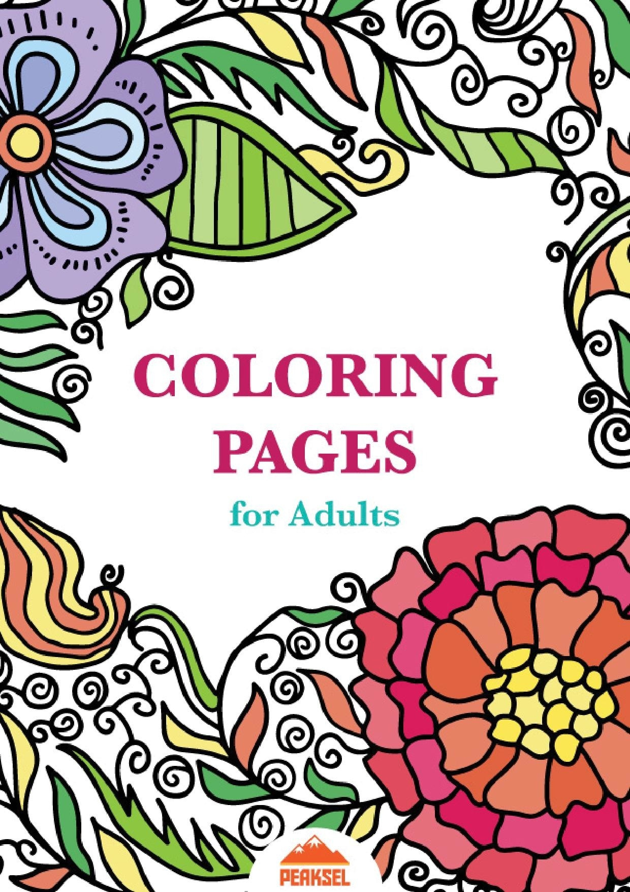 File:printable Coloring Pages For Adults - Free Adult Coloring Book - Free Printable Coloring Books Pdf