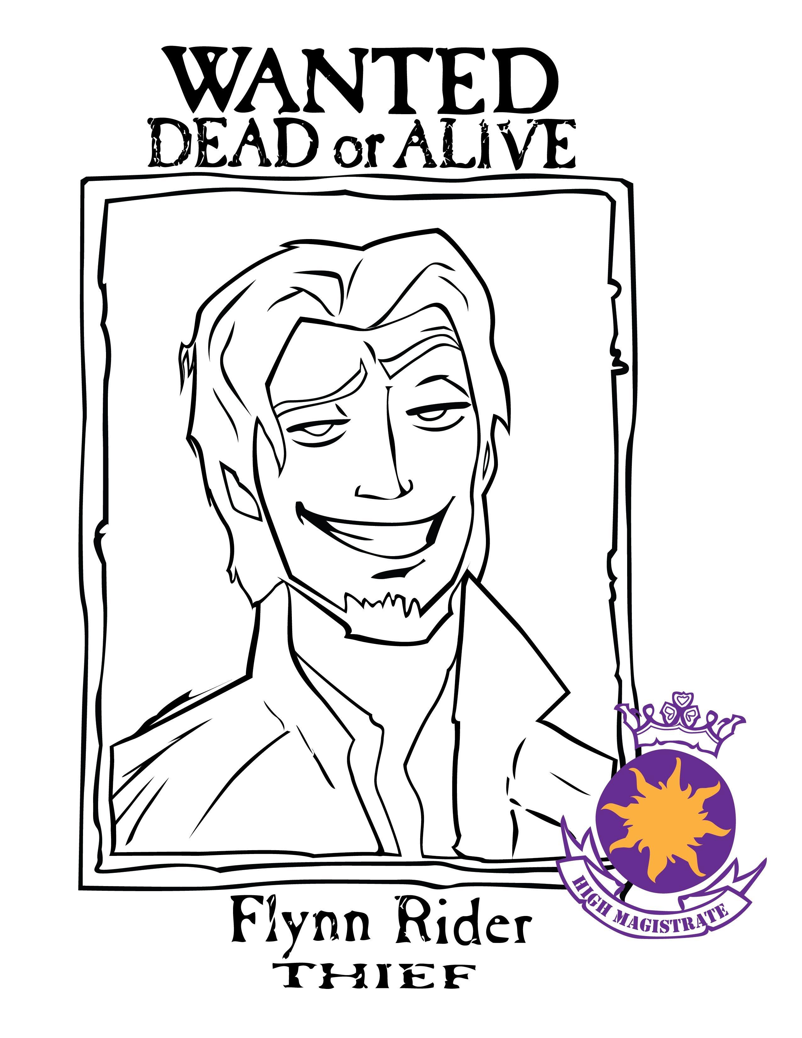 Flynn Rider Pinata - Google Search | Child Birthday Party Ideas - Free Printable Flynn Rider Wanted Poster