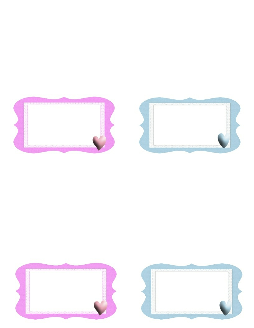 Free Baby Borders For Microsoft Word, Download Free Clip Art, Free - Free Printable Baby Borders For Paper