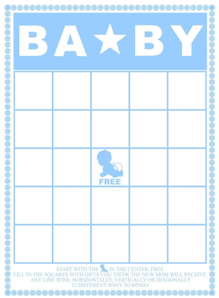 Free Baby Shower Bingo Cards Your Guests Will Love   Baby Shower - Free Printable Baby Shower Bingo Cards