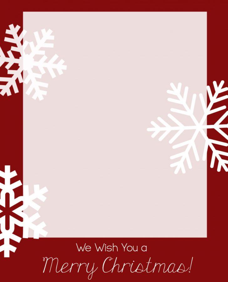 Free Printable Photo Christmas Cards