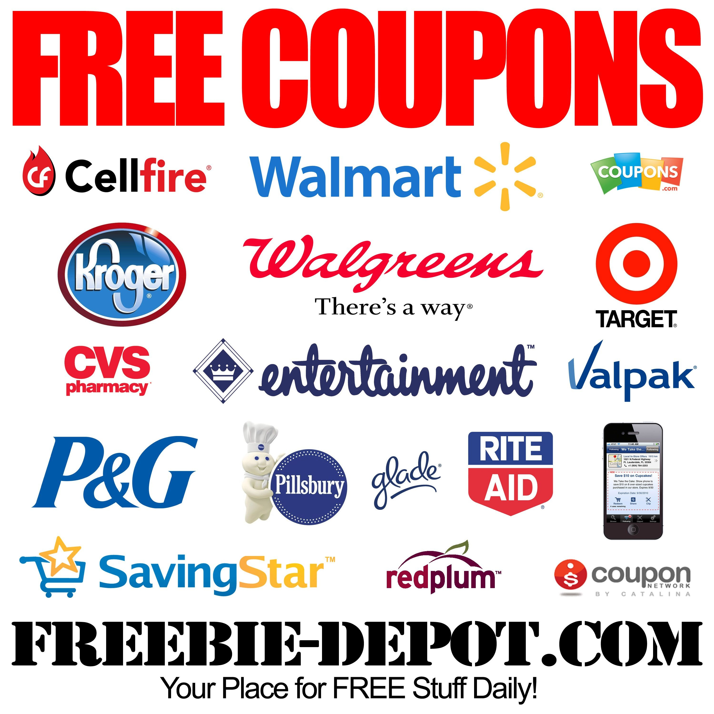 Free Coupons - Free Printable Coupons - Free Grocery Coupons - Free Printable Coupons Without Downloading Or Registering