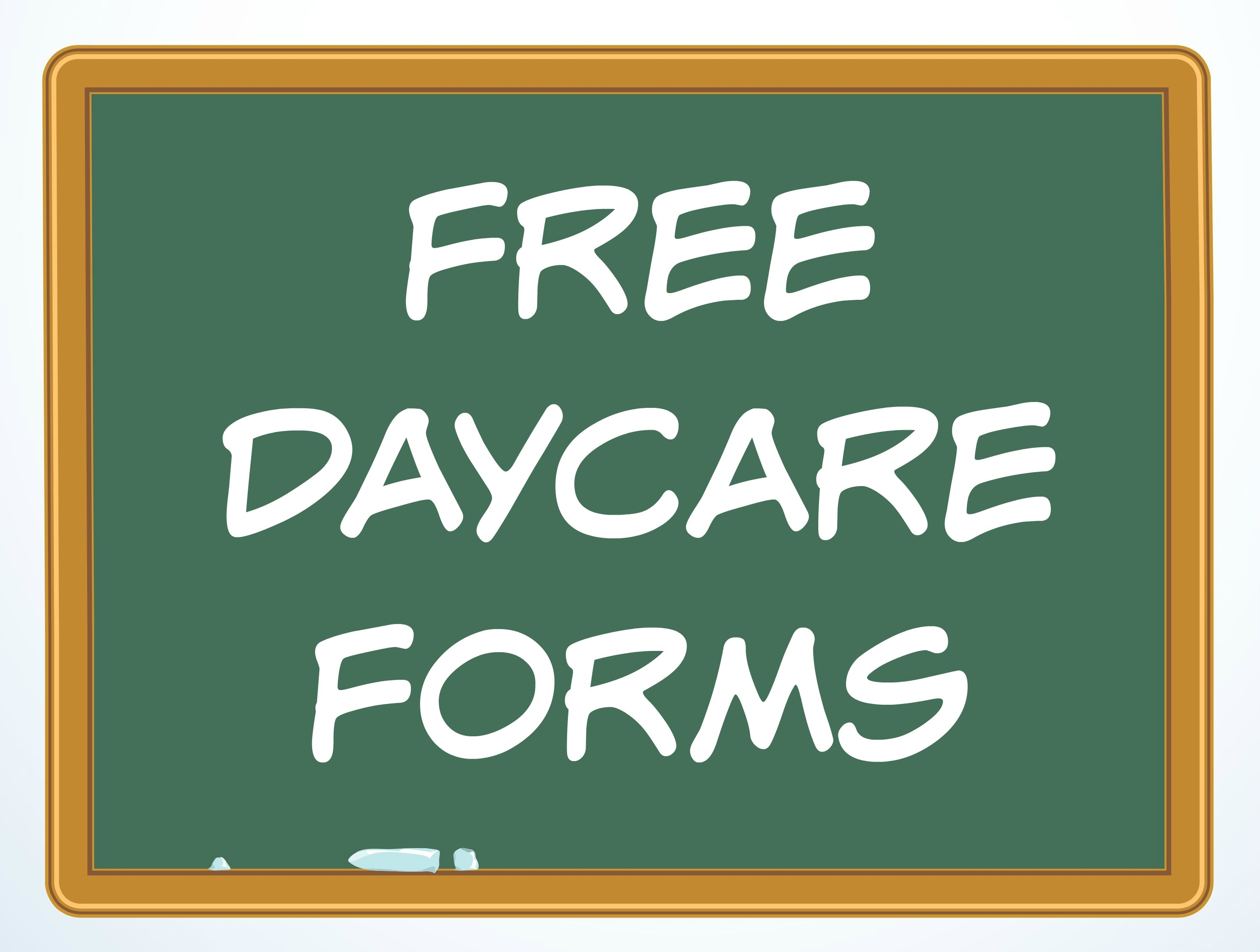 Free Daycare Forms And Sample Documents - Free Printable Daycare Forms For Parents
