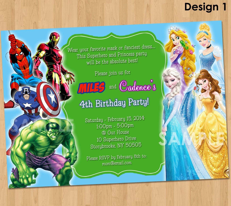 Free Free Printable Superhero Birthday Invitations | Bagvania - Free Printable Superman Invitations