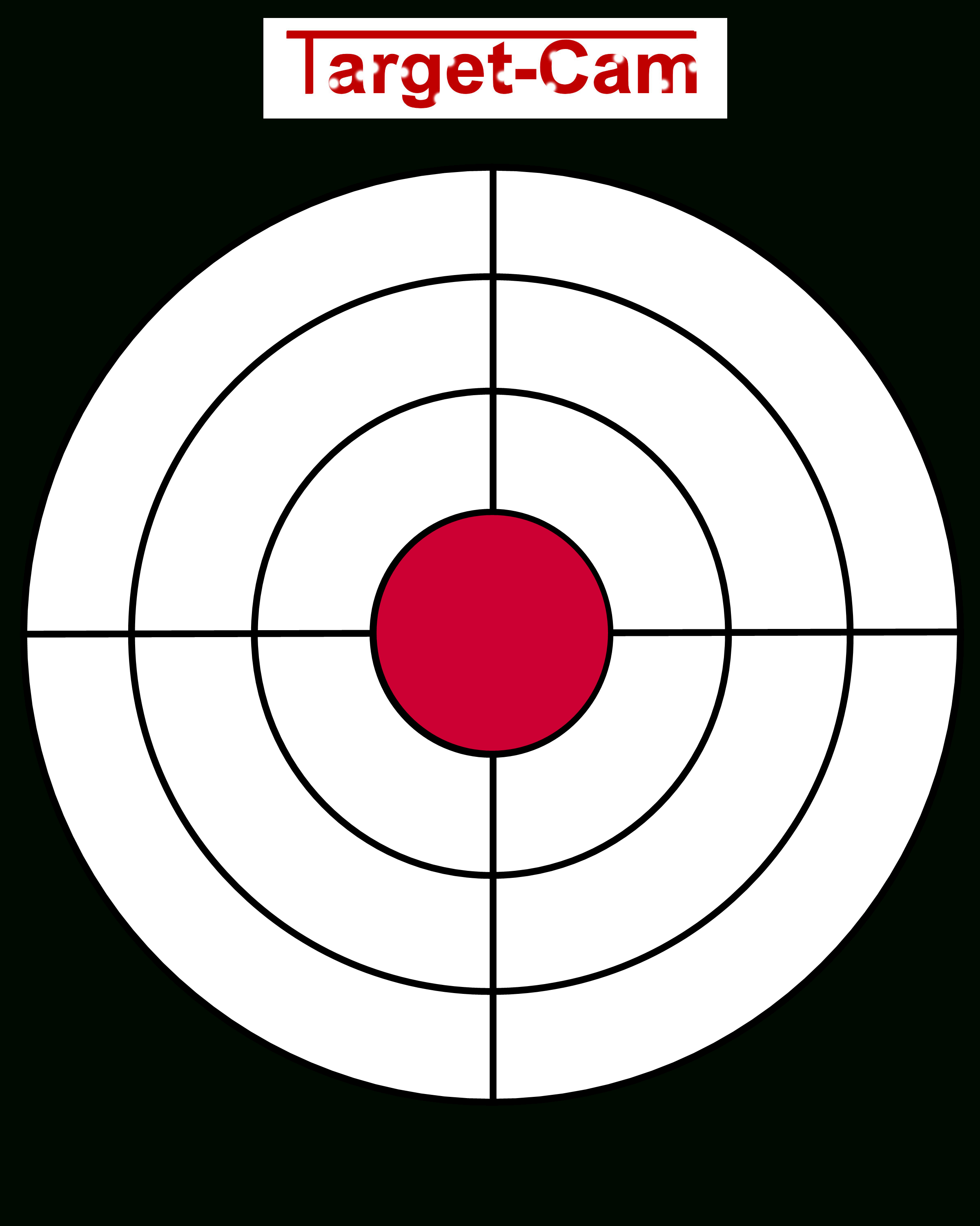 """Free Gun Targets To Print 