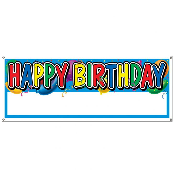 Free Printable Happy Birthday Signs