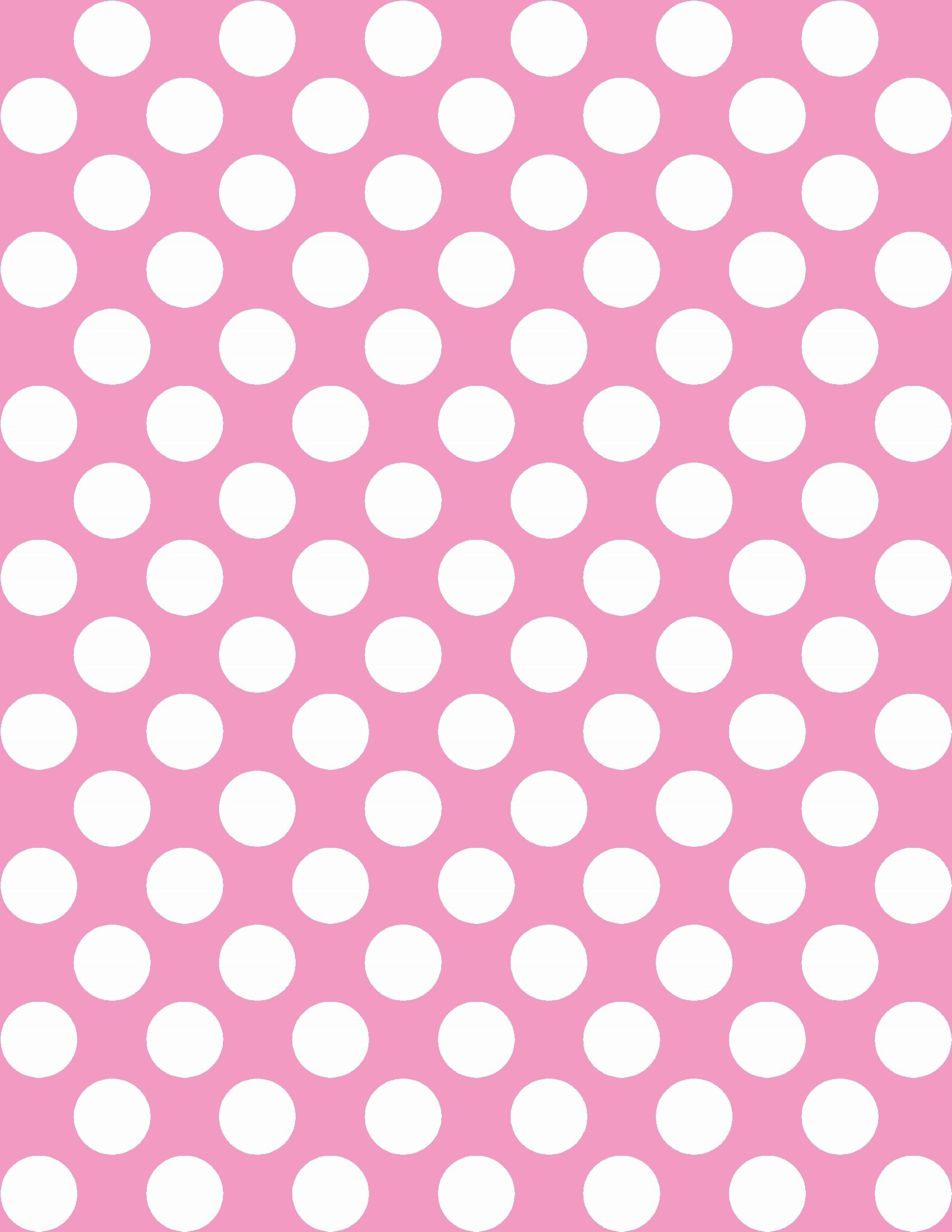 Free Polka Dot Background In Any Color   Instant Download - Free Printable Pink Polka Dot Paper