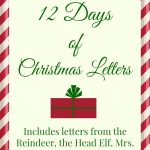 Free Printable: 12 Days Of Christmas Letters   Wantneedlove - Free Printable 12 Days Of Christmas Gift Tags