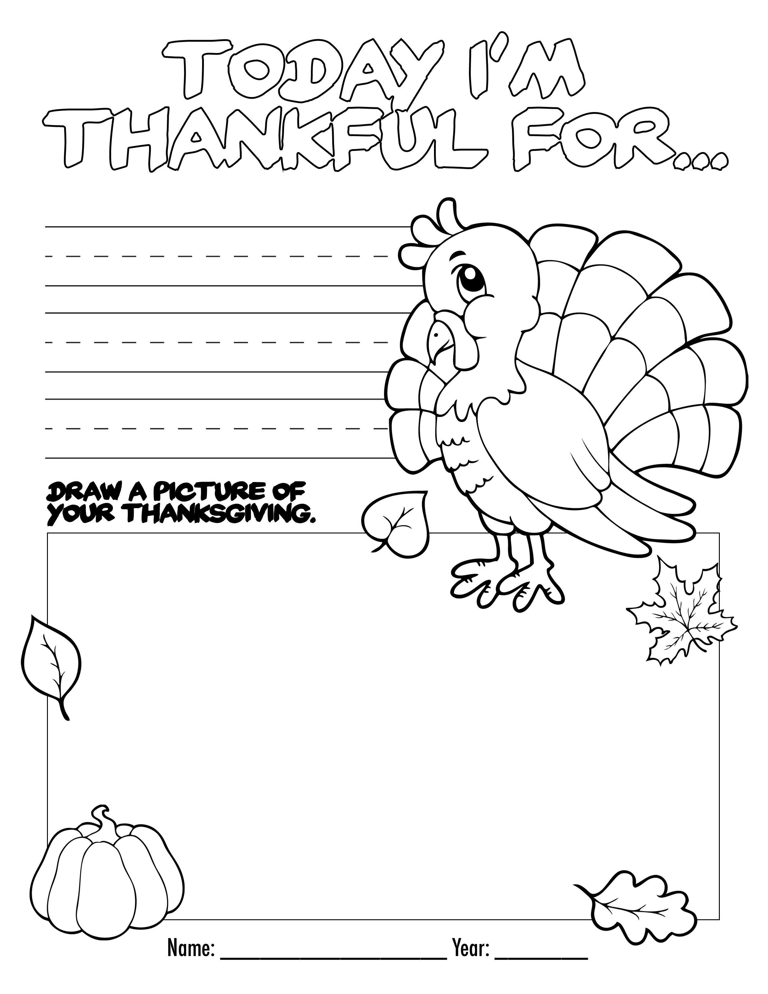 Free Printable Activities For Kindergarten Thanksgiving   Printable - Free Printable Thanksgiving Activities For Preschoolers