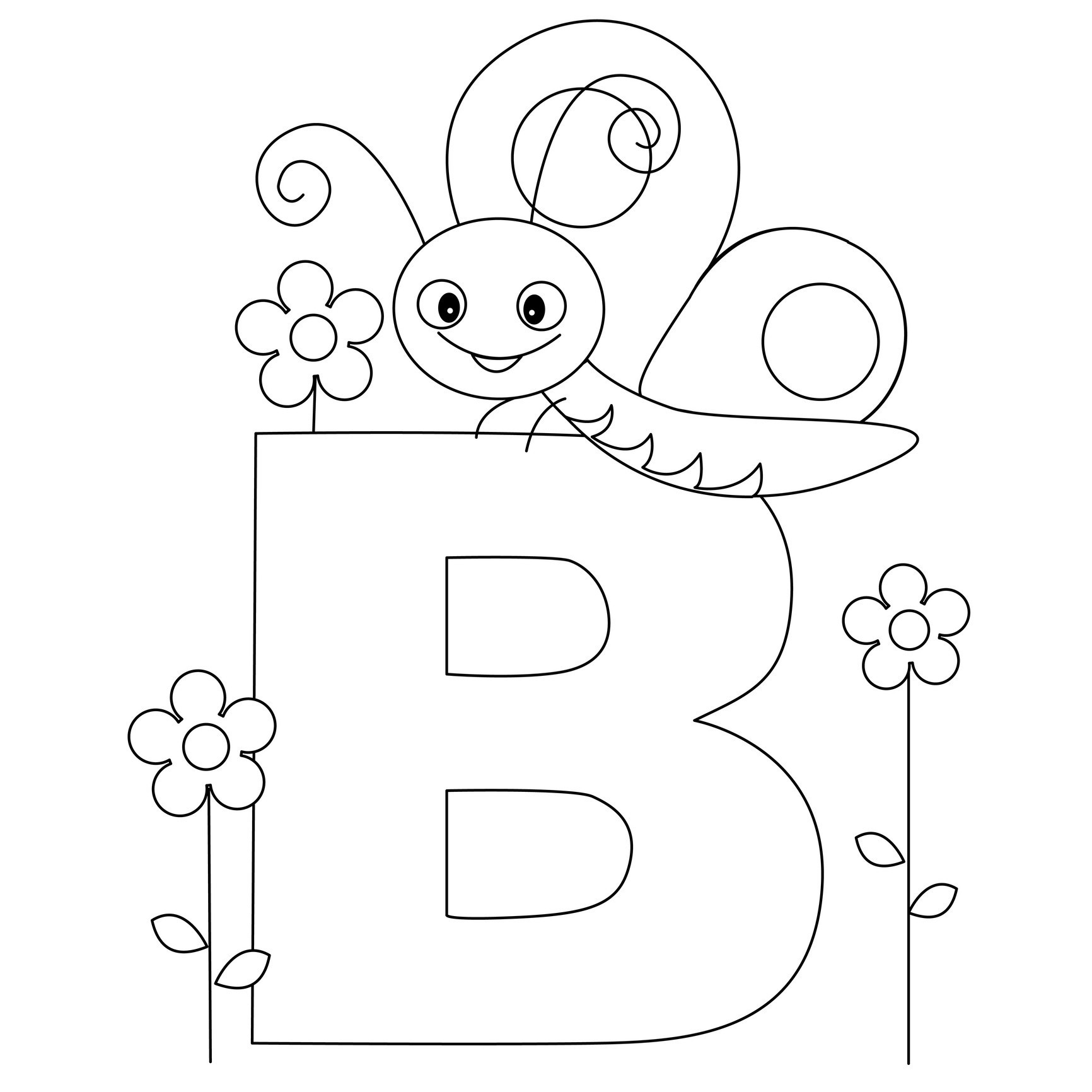 Free Printable Alphabet Coloring Pages For Kids - Best Coloring - Free Printable Alphabet Letters To Color