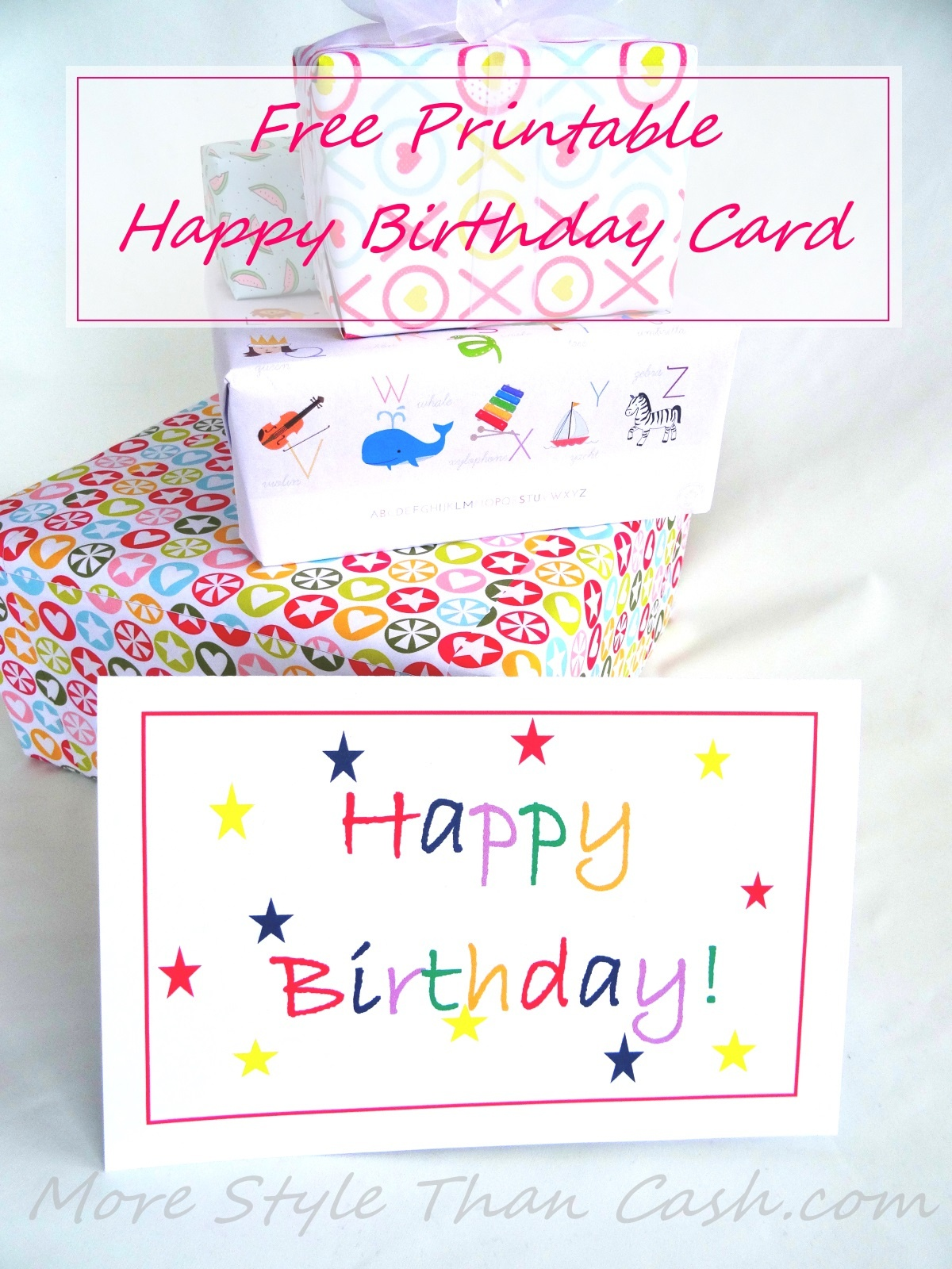 Free Printable Birthday Card - Free Printable Greeting Cards