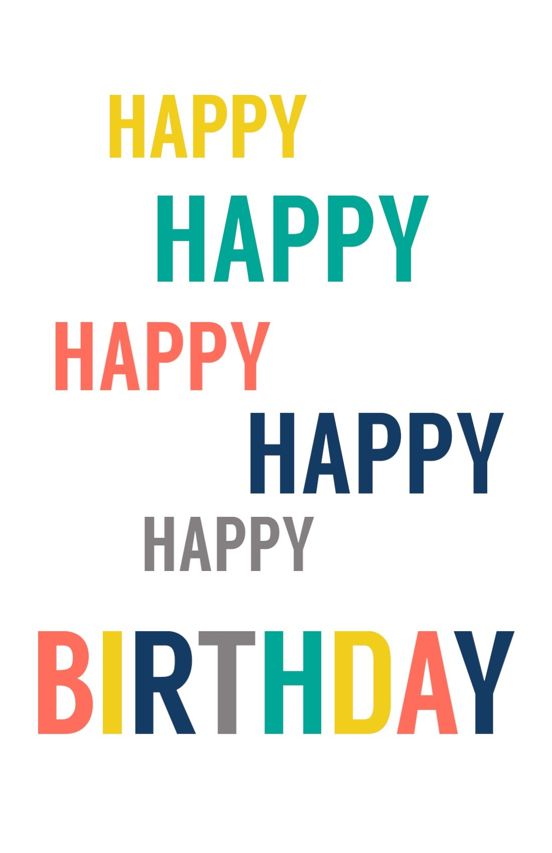 Free Printable Birthday Cards - Paper Trail Design - Free Printable Bday Cards