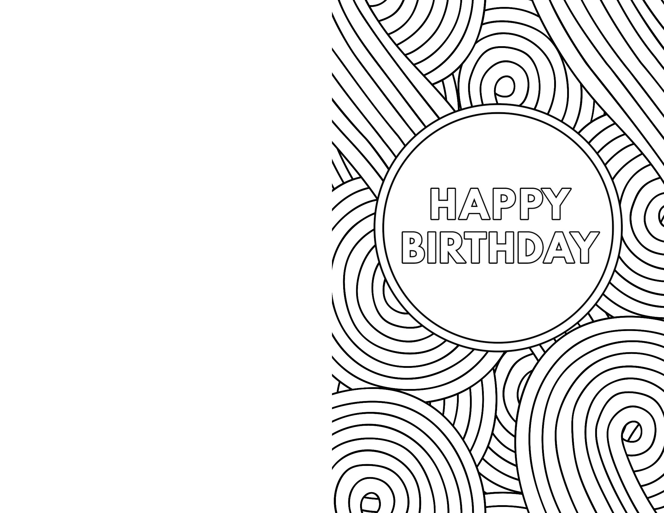 Free Printable Birthday Cards - Paper Trail Design - Free Printable Greeting Cards