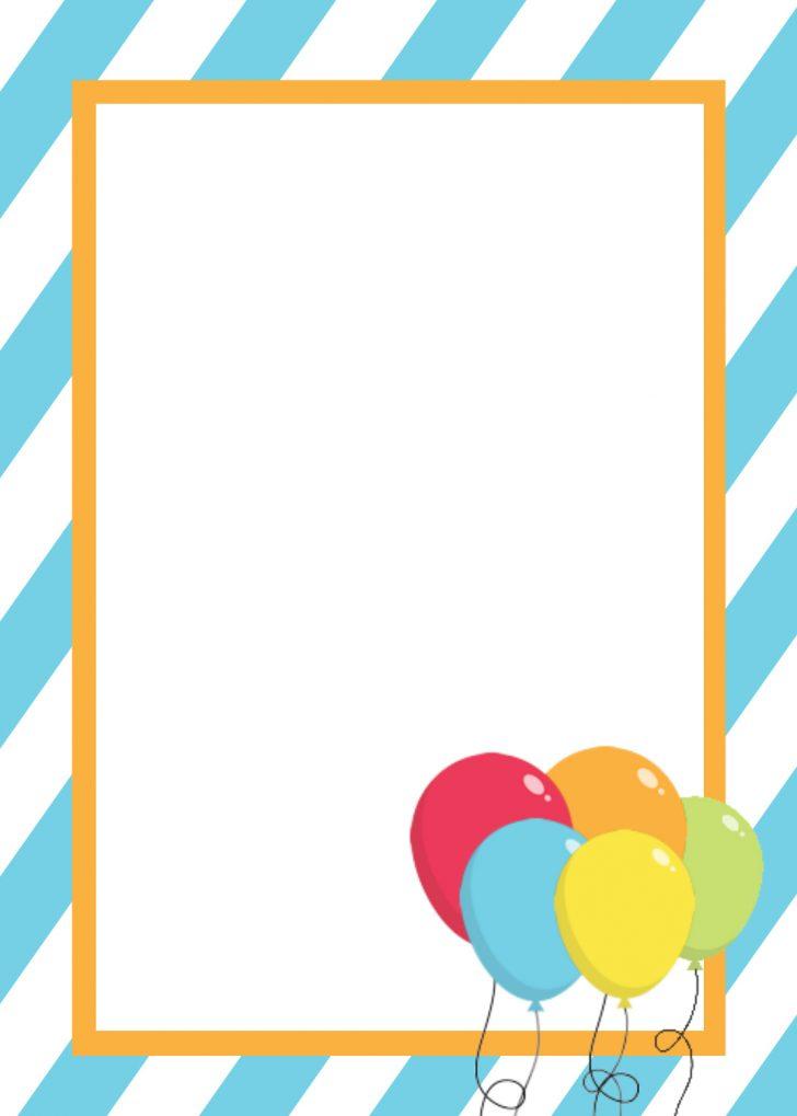 Free Printable Birthday Party Flyers