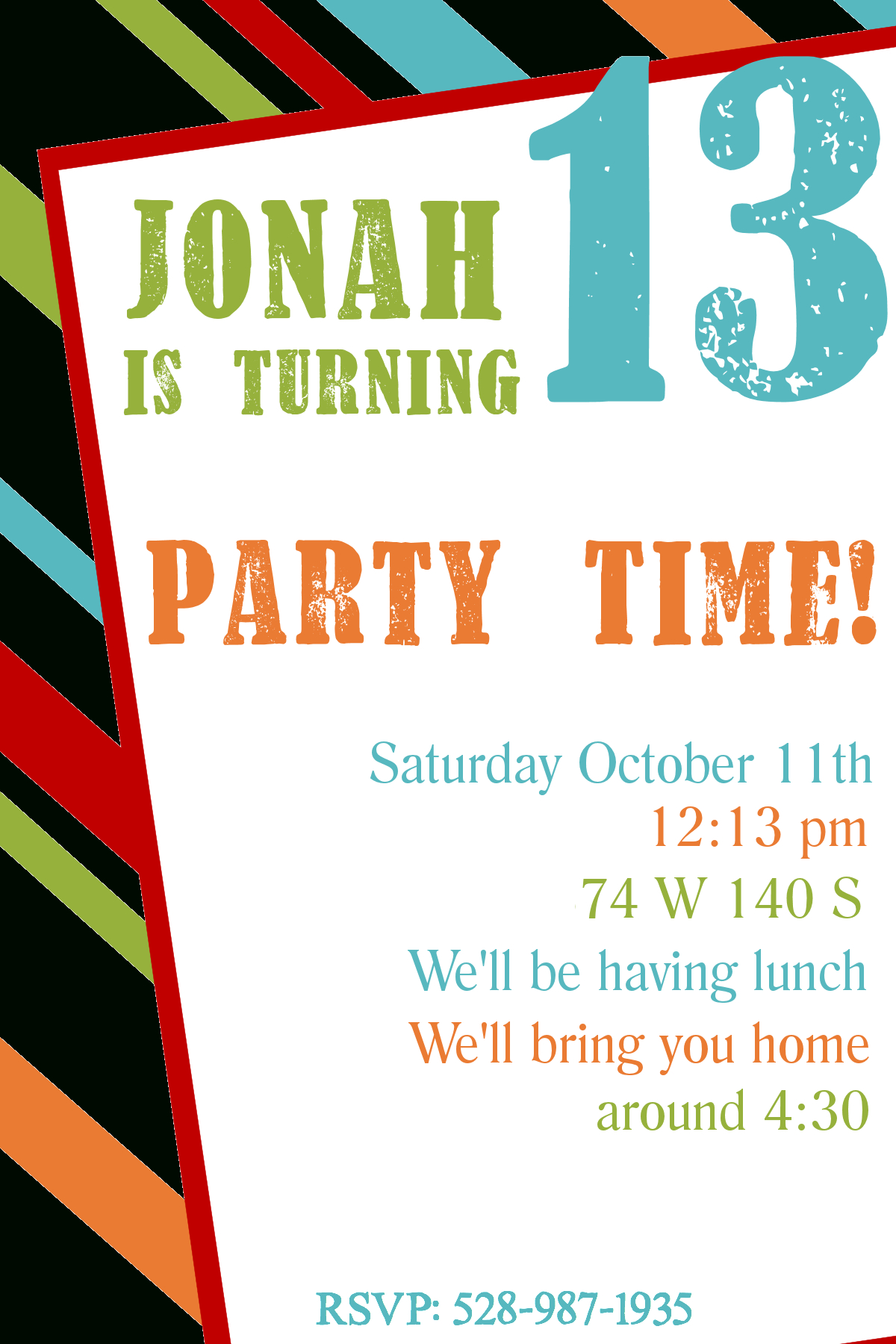 Free Printable Birthday Invitation Templates - Free Printable Surprise Party Invitations