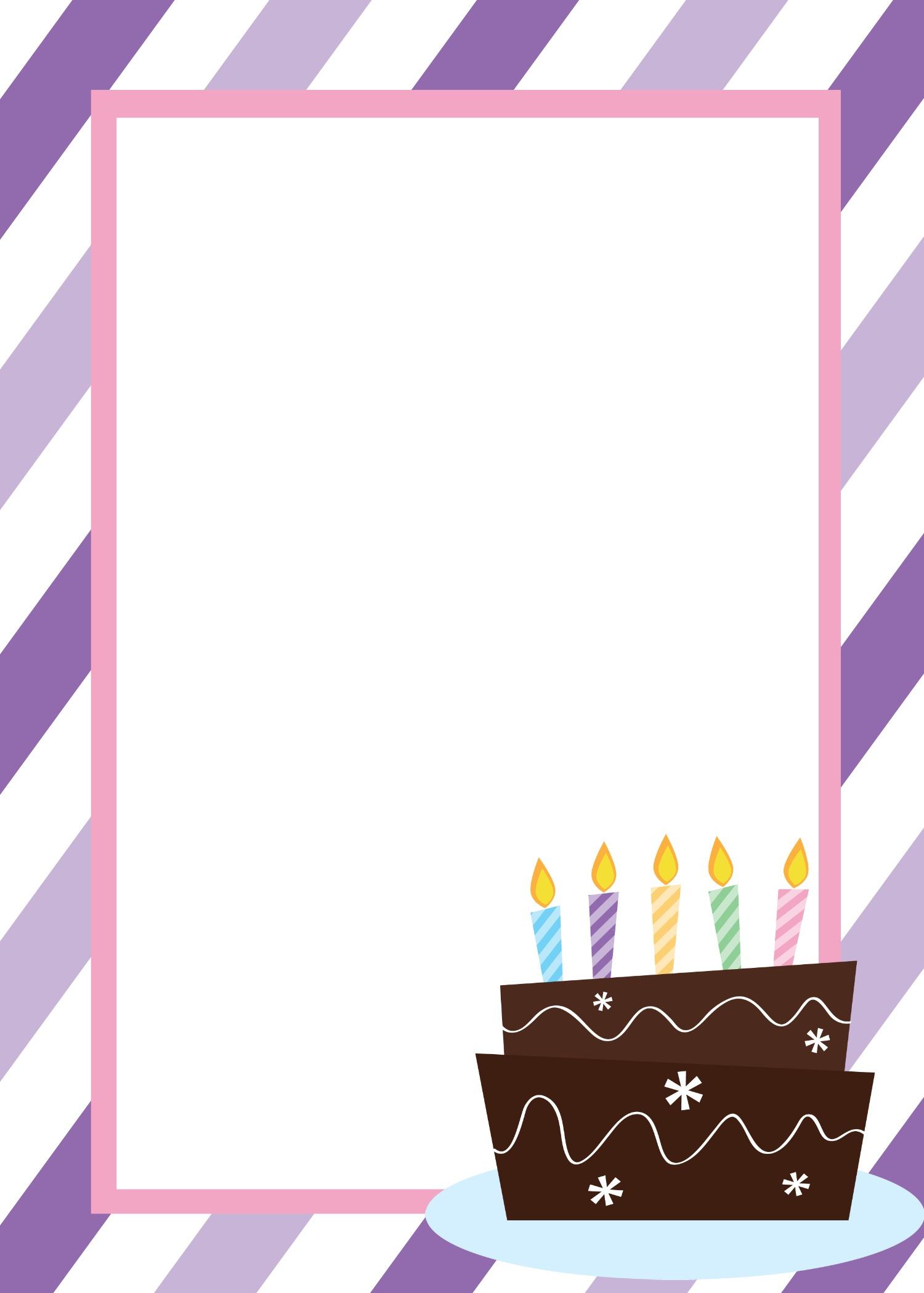 Free Printable Birthday Invitation Templates - Happy Birthday Invitations Free Printable