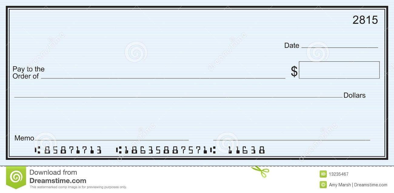 Free Printable Checks Template | Template | Blank Check, Templates - Free Printable Checks
