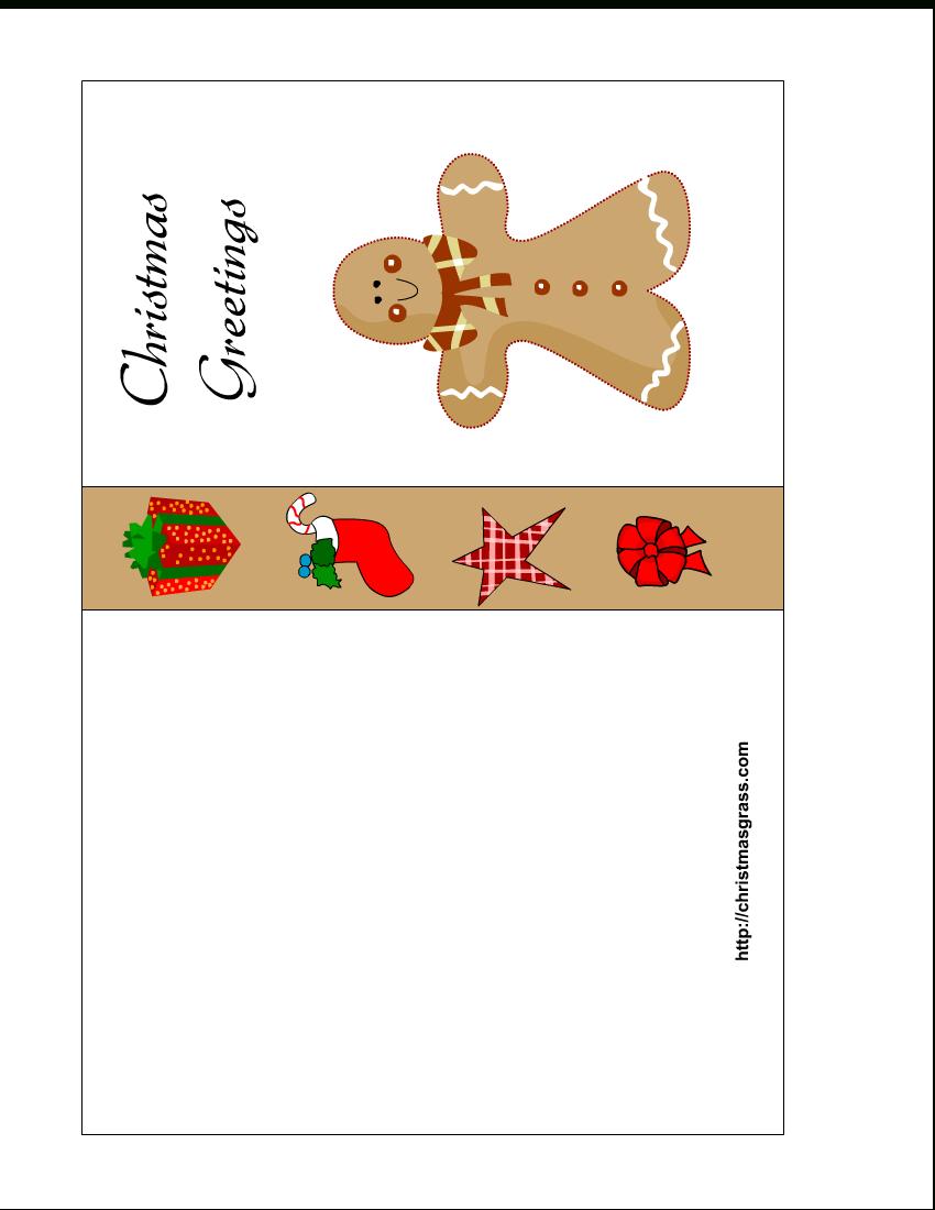 Free Printable Christmas Cards | Free Printable Christmas Card With - Free Printable Photo Christmas Cards