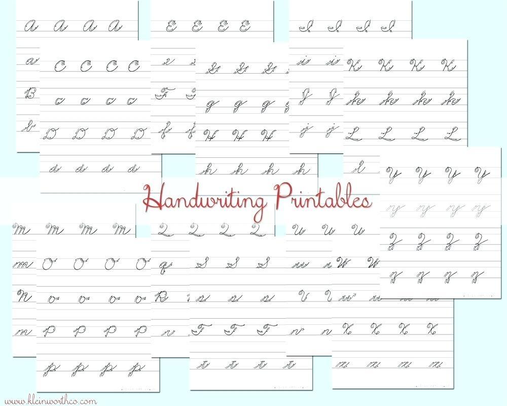 Free Printable Cursive Writing Practice Free Practice Cursive - Free Printable Script Writing Worksheets