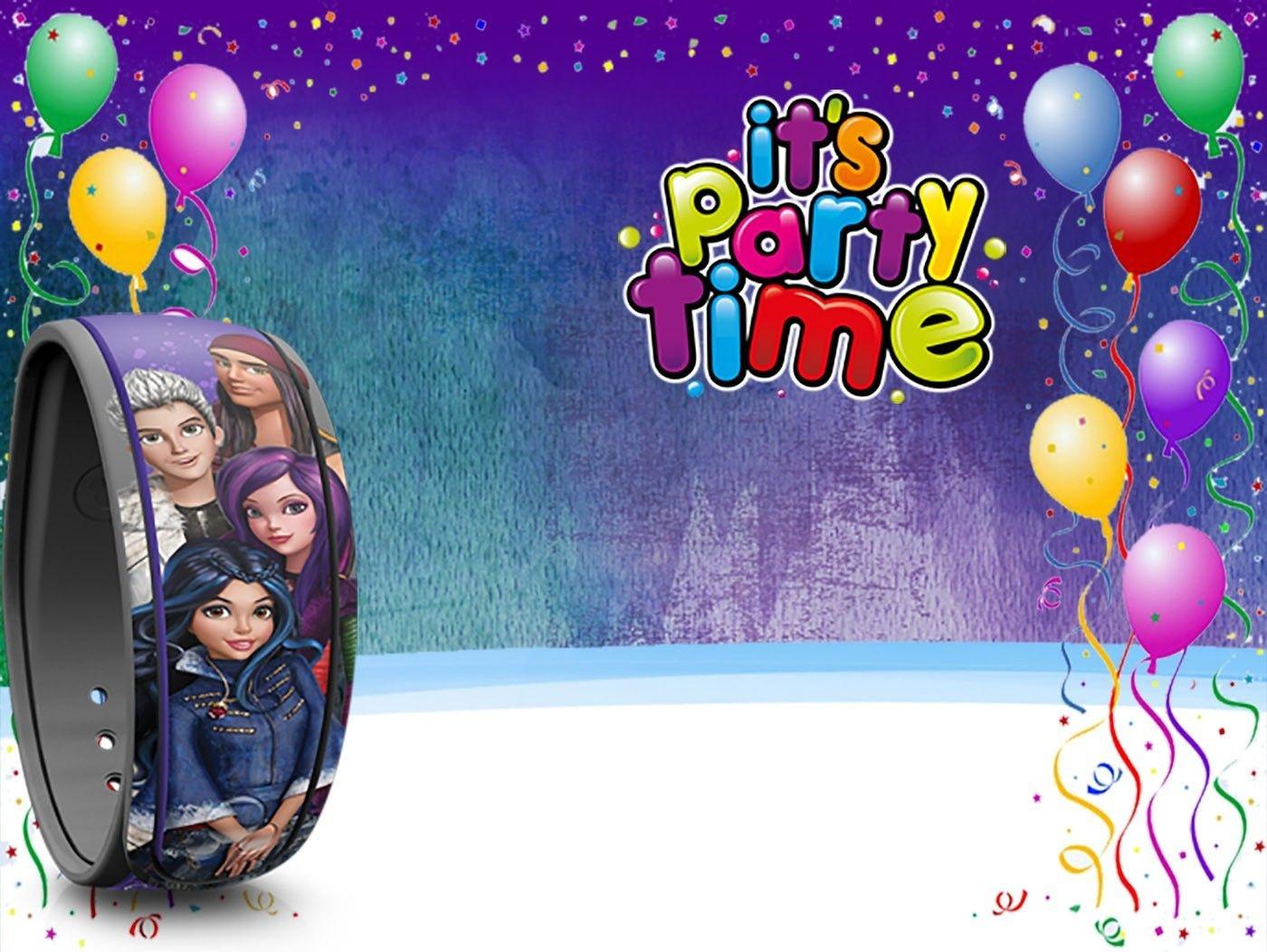 Free Printable Descendants Party Invitation Template | Coolest - Free Printable Descendants Invitations