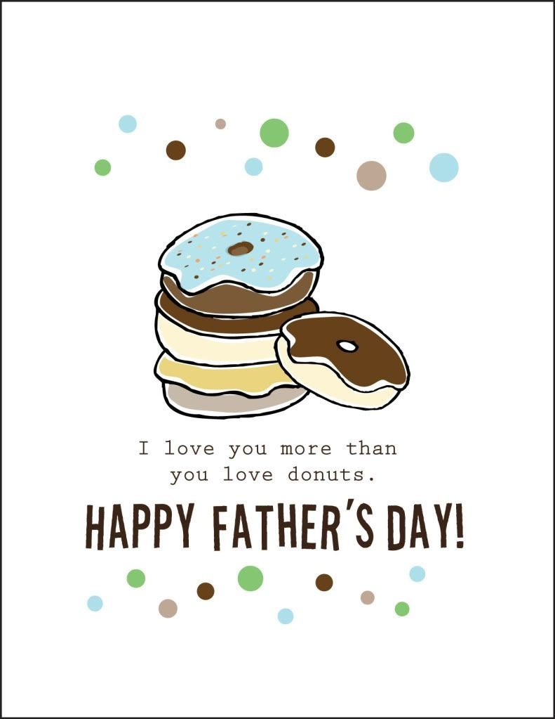 Free Printable Fathers Day Cards    Cardstock Paper Will Print 2 - Free Printable Fathers Day Cards