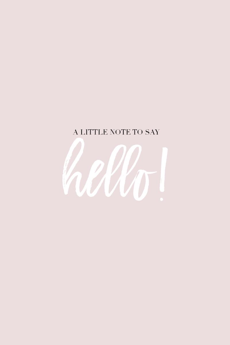 Free Printable: Hello! Greeting Card -Gabriella - Free Printable Greeting Cards