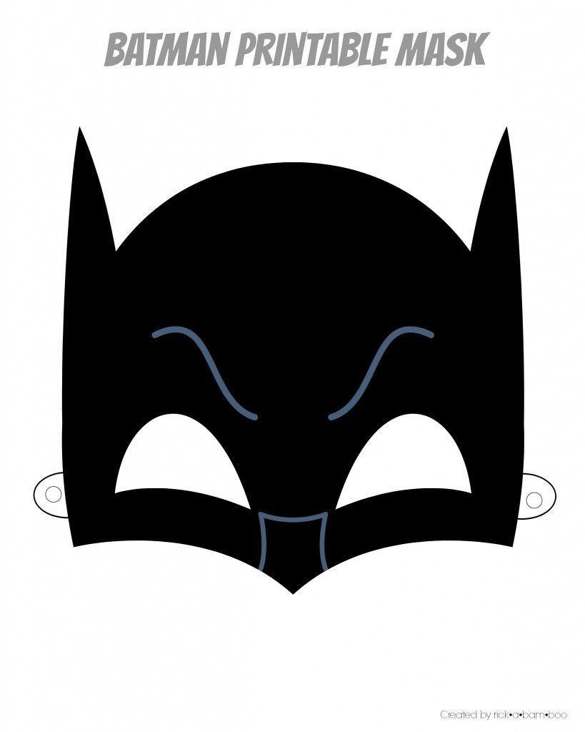 Free Printable Hero Masks   Adrian Bday2   Batman Mask, Superhero - Free Printable Superhero Masks