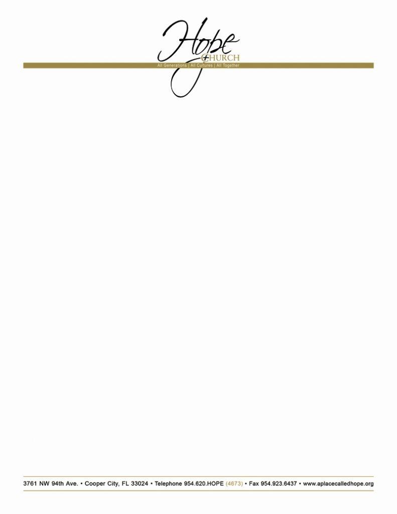 Free Printable Letterhead Free Church Letterhead Templates Free - Free Printable Religious Letterhead