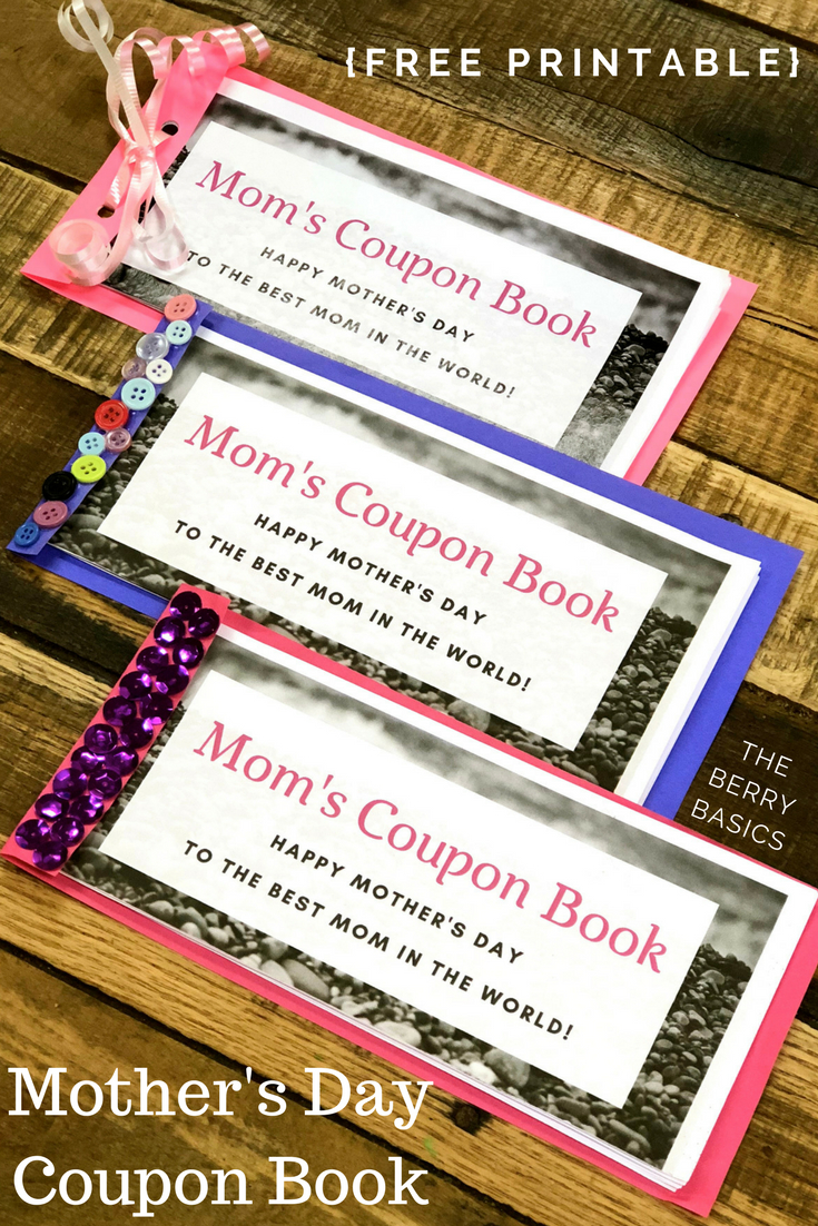 Free Printable Mother's Day Coupon Book | Activity Days | Mother's - Free Printable Homemade Coupon Book