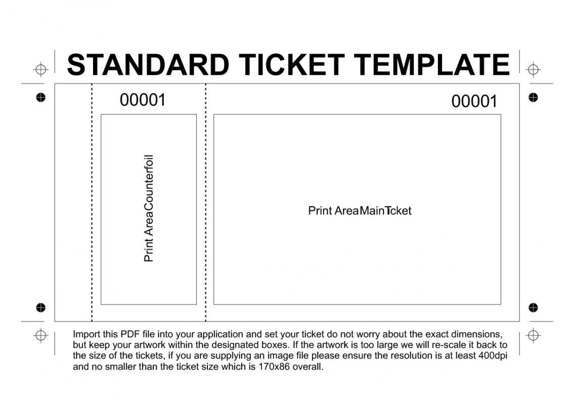 Free Printable Raffle Tickets Template | Template | Ticket Template - Free Printable Raffle Ticket Template