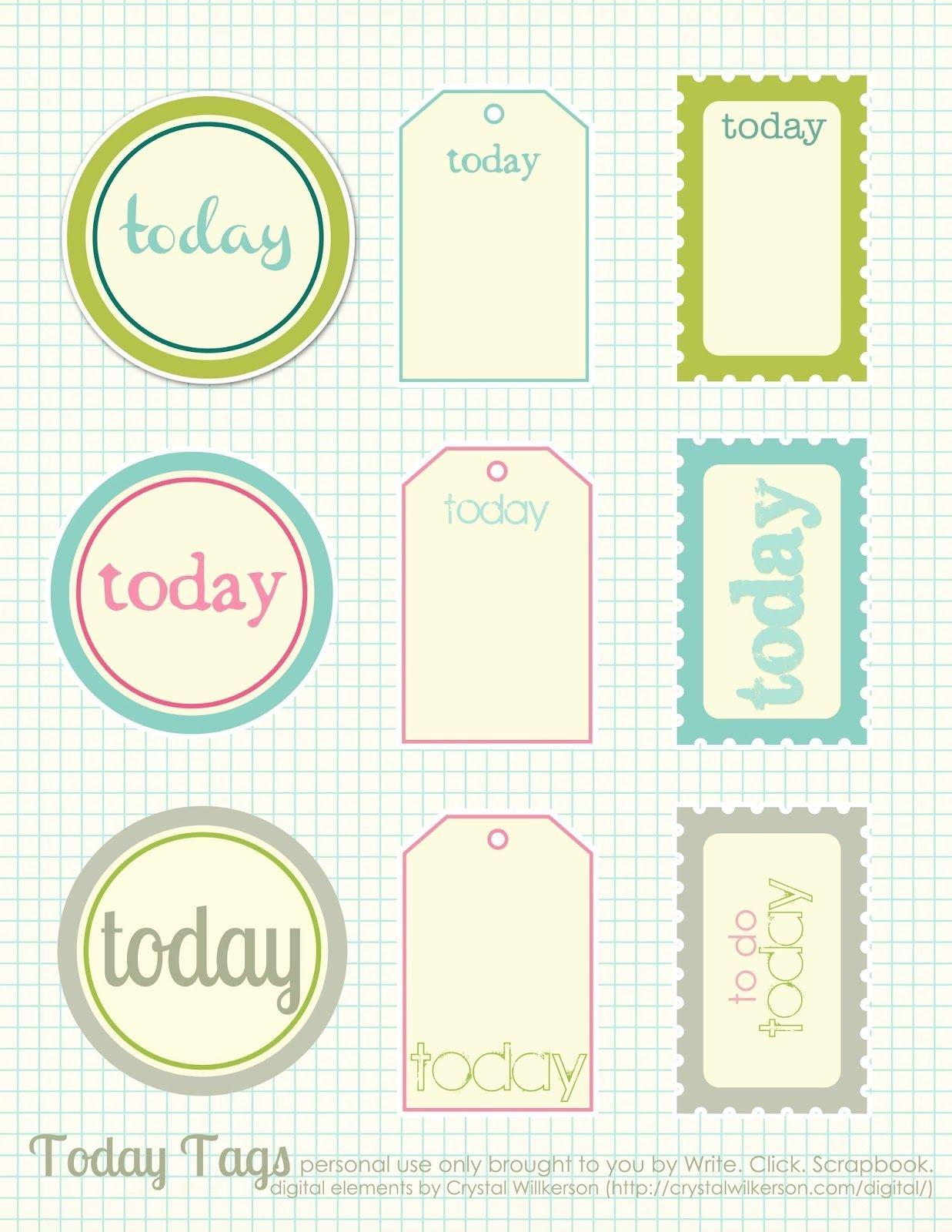 Free Printable Scrapbook Cutouts   Printable For All Topics - Free Printable Scrapbook Templates