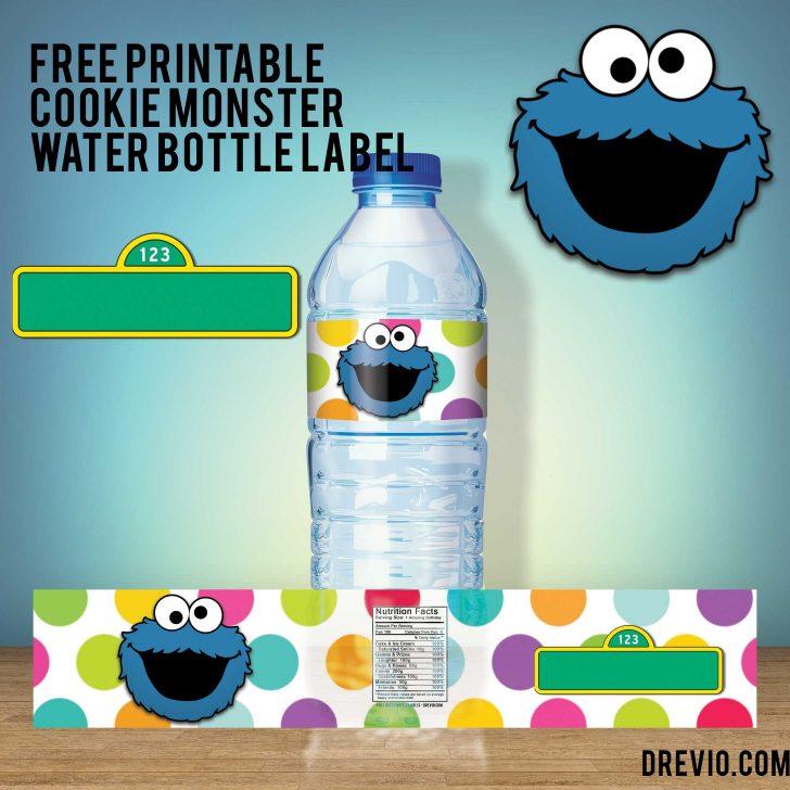 Free Printable Cookie Monster Birthday Invitations