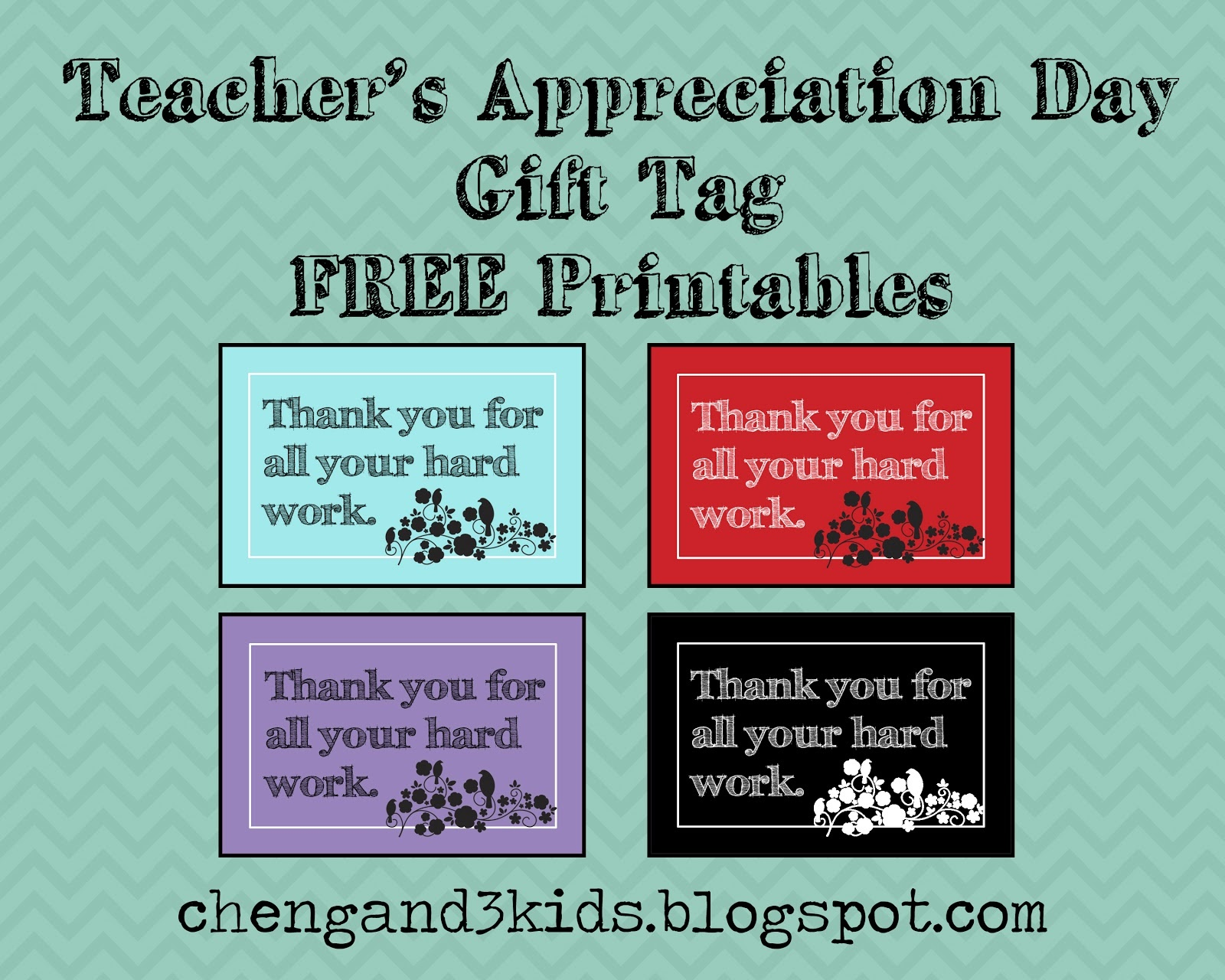Free Printable Tags For Teacher Appreciation - All Free Tag Designs - Free Printable Name Tags For Teachers