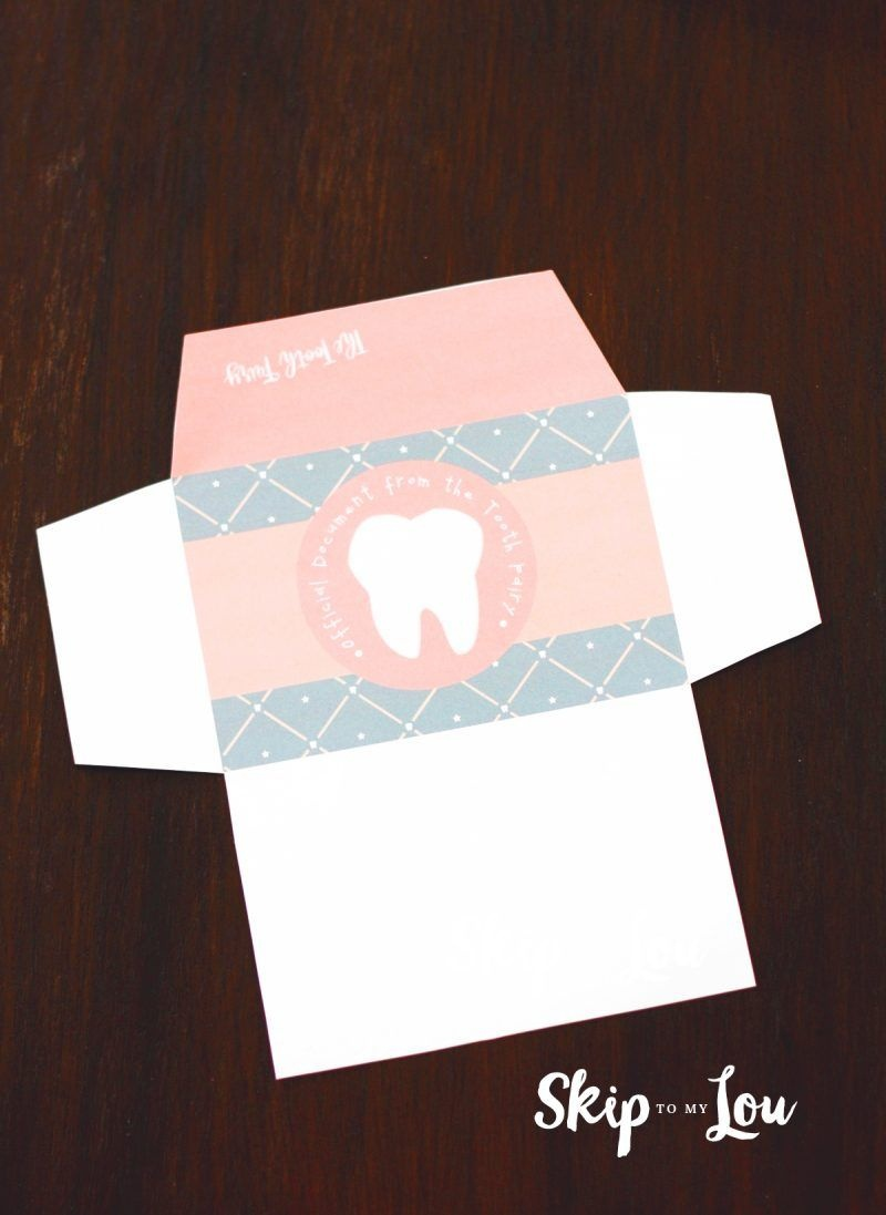 Free Printable Tooth Fairy Letter With Matching Enevelopes   Hair - Free Printable Tooth Fairy Letter And Envelope