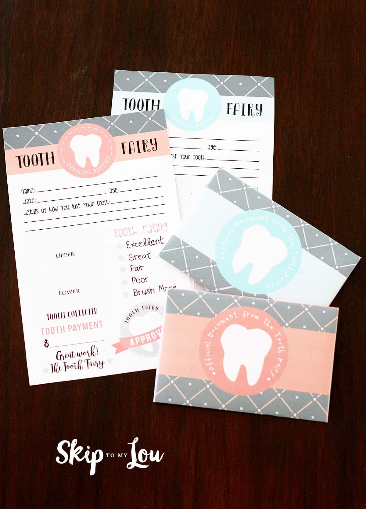 Free Printable Tooth Fairy Letter With Matching Enevelopes   Skip To - Free Printable Tooth Fairy Letter And Envelope