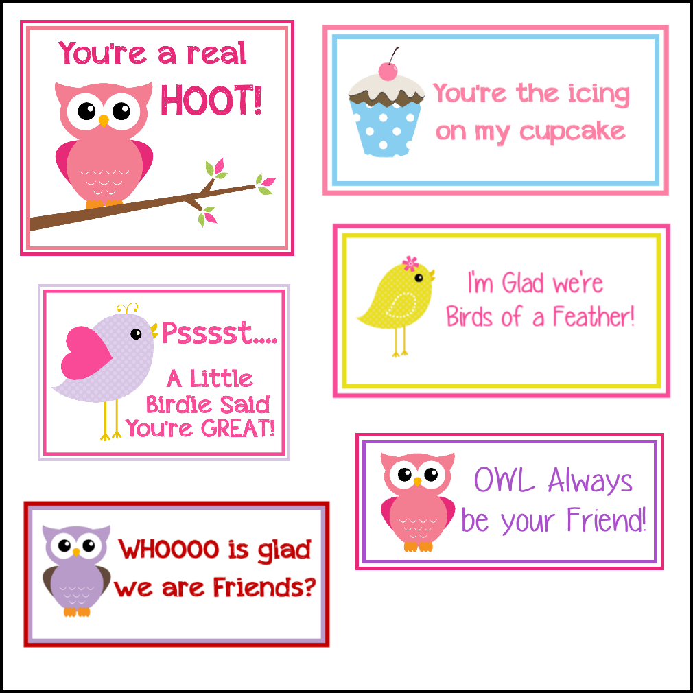 Free Printable Valentine's Cards (A Lot Of Them | Diy-Owl Printabes - Free Printable Owl Valentine Cards