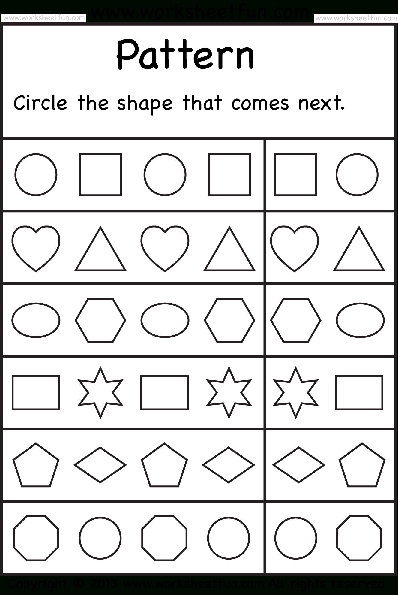 Free Printable Worksheets – Worksheetfun / Free Printable - Free Printable Preschool Worksheets