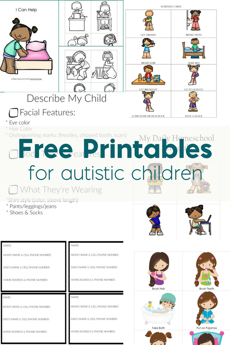 Free Printables For Autistic Children And Their Families Or Caregivers - Free Printable Social Stories