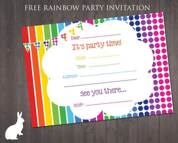 Free Printable Birthday Invitation Cards