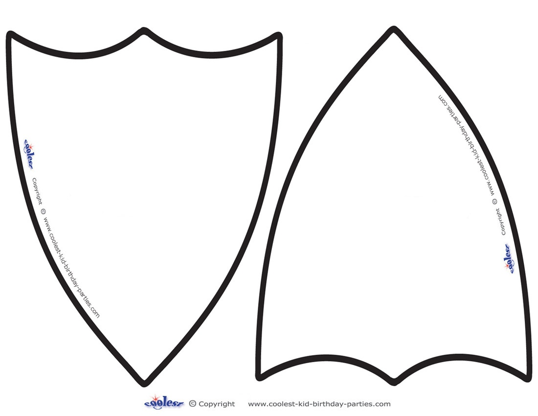 Free Shield Template, Download Free Clip Art, Free Clip Art On - Free Printable Pictures Of Knights