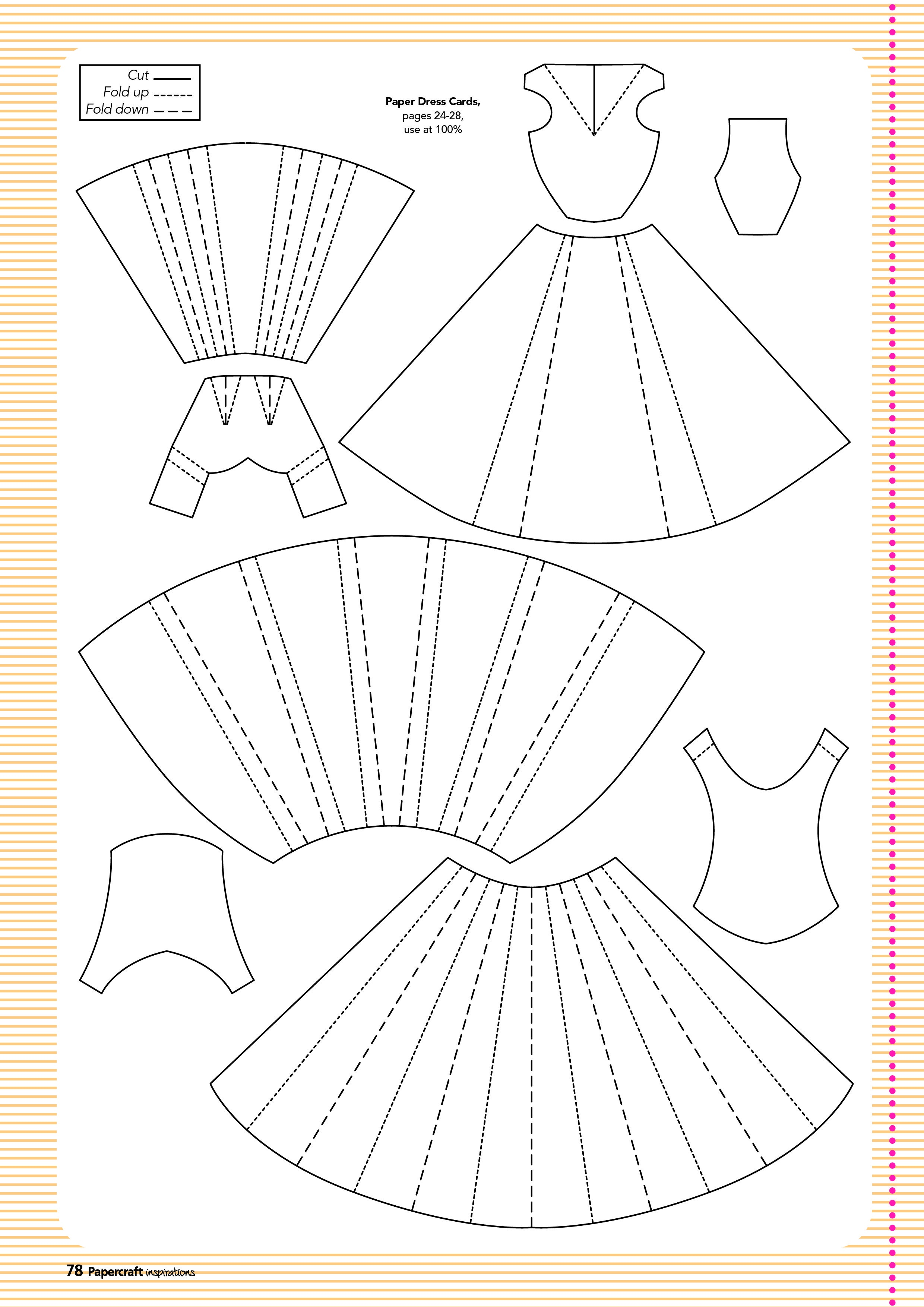 Free Templates From Papercraft Inspirations 129   Cards-N-Tags - Printable Paper Crafts Free