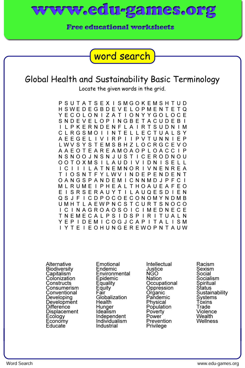 Free Word Search Maker   The Site Making Your Own Worksheets - Create A Wordsearch Puzzle For Free Printable