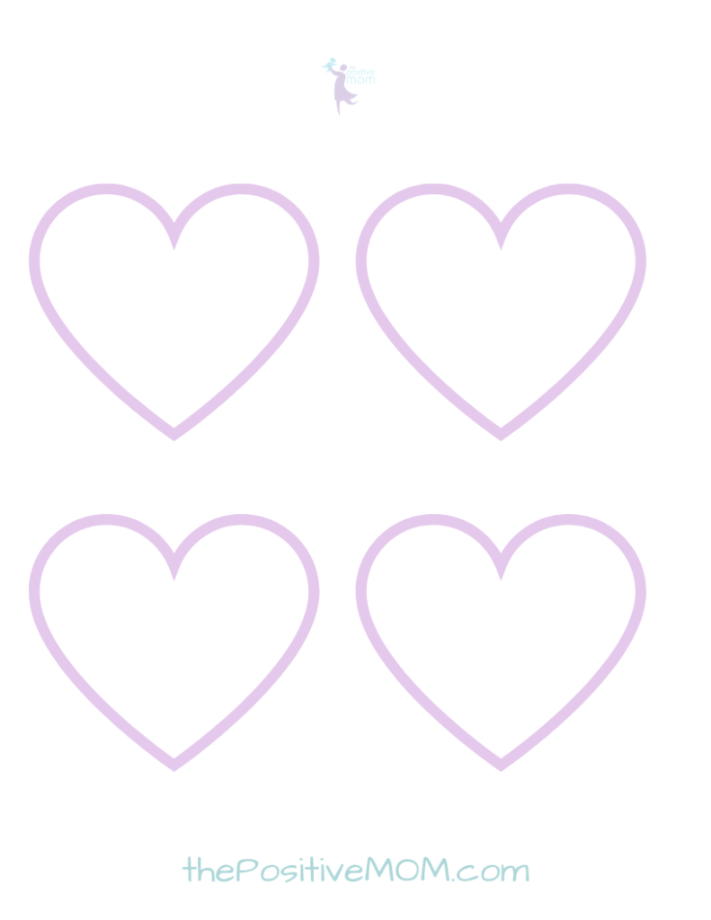 Give Your Kids An Appreciation Heart Attack (Free Printables - Free Printable Hearts