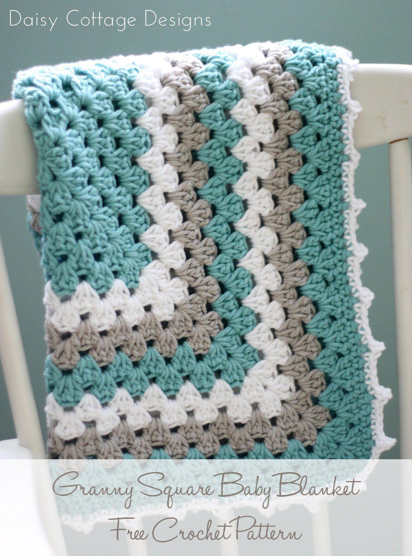 Granny Square Pattern - A Free Crochet Pattern | Best Of Daisy - Free Printable Crochet Granny Square Patterns