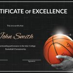Great Basketball Certificate Template Images Gallery. Free Printable – Basketball Participation Certificate Free Printable