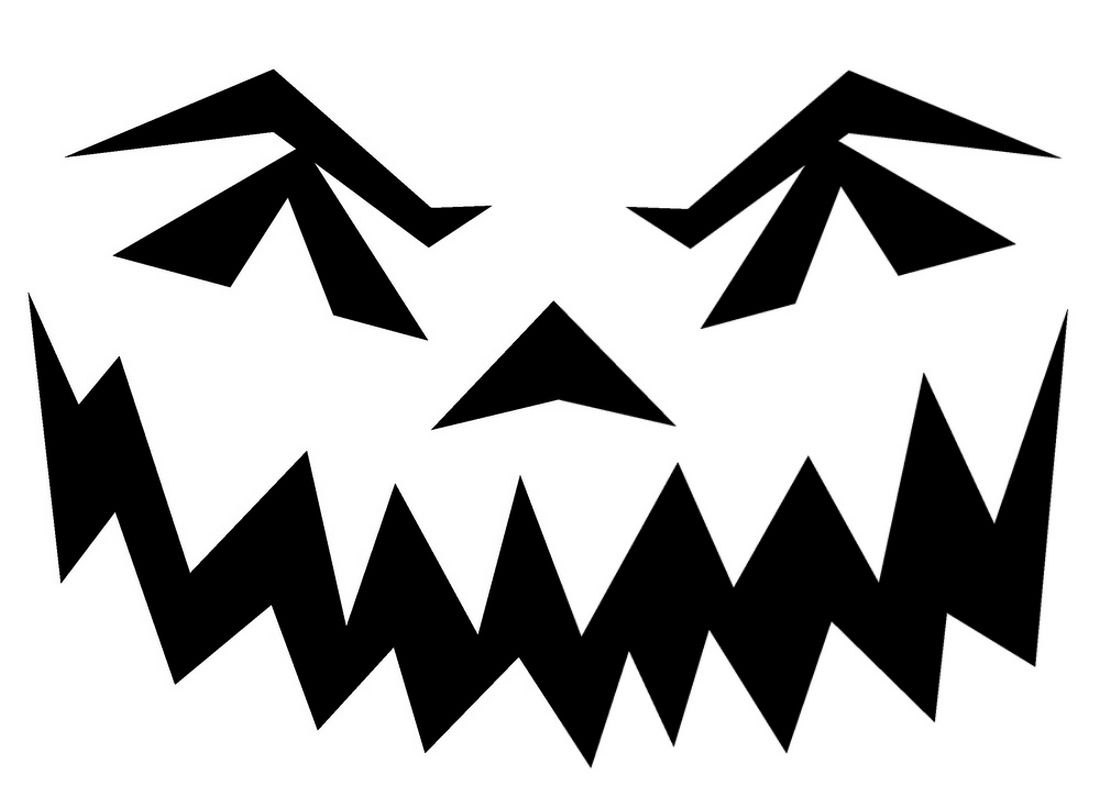 Halloween Pumpkin Stencils To Print   Pin Scary Pumpkin Stencils - Scary Pumpkin Patterns Free Printable